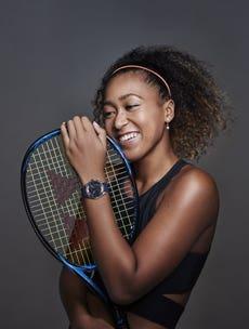 Citizen Brand Ambassador Naomi Osaka at Wimbledon 2019